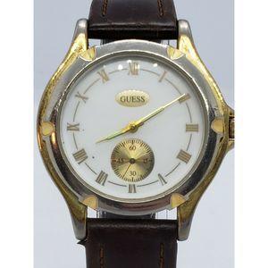 Vintage Men's Guess Watch Roman Numerals